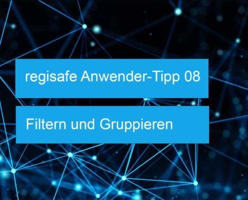 regisafe Anwender-Tipp