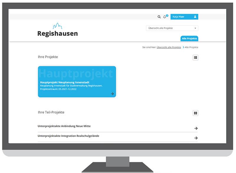 regisafe-Projektportal
